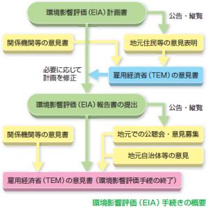 環境影響評価(EIA)手続きの概要