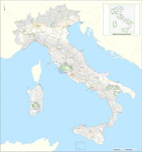 潜在的適性地域国家マップ(CNAPI)
